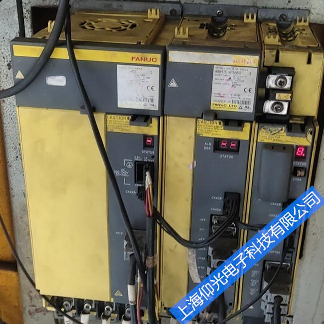 发那科伺服驱动器维修常见故障 A06B-6105-H001报417/414修理法兰克