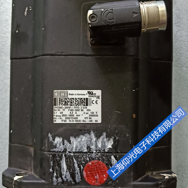 KUKA 00-115-926 库卡机器人伺服电机维修常见故障
