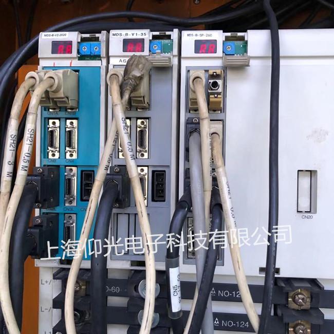 三菱数控主轴伺服驱动器维修MDS-B-V1-35报AL.E9修理 可测试