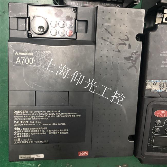 医院设备三菱伺服器常见故障过载1AL50故障代码维修