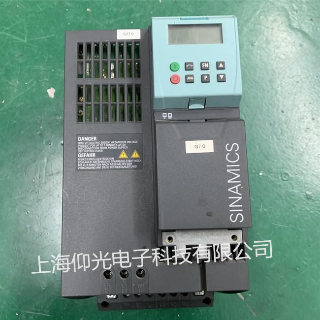 西门子G120变频器维修6SL3224-0BE24-0AA0报F0011-F0024故障代码修理