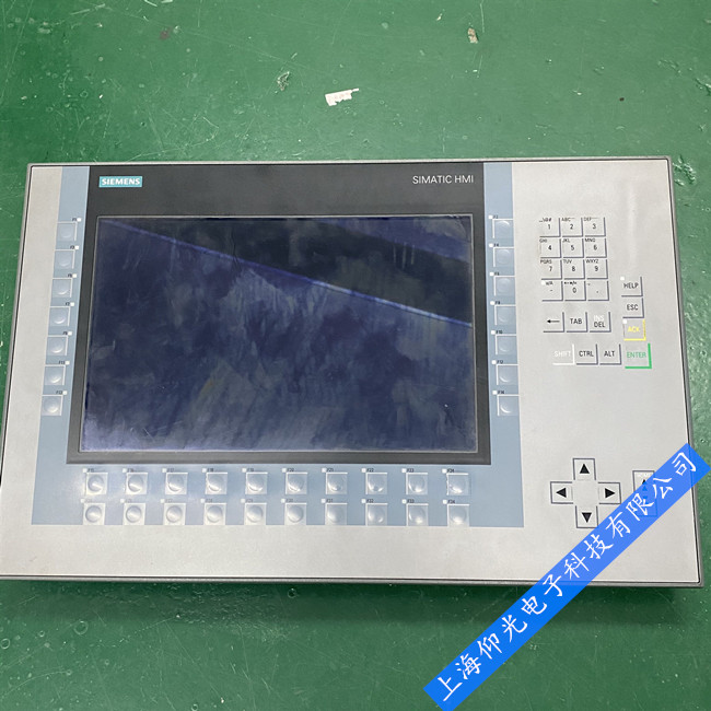 KP1200内外屏幕坏黑屏故障速修